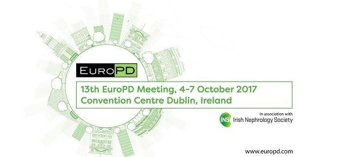 13th European Peritoneal Dialysis Meeting Dublin Ireland 4 7